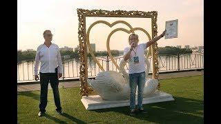 Самая большая рамка для свадебных фотографий
