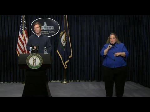 Ky. Gov. Beshear: Death tolls rises to five, drive-thru testing sites ...