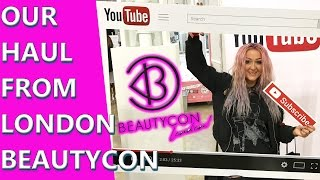 Beautycon London Haul - Meeting YouTubers and Instagramers - Social Media Overload😍😍😍 Spot Adam