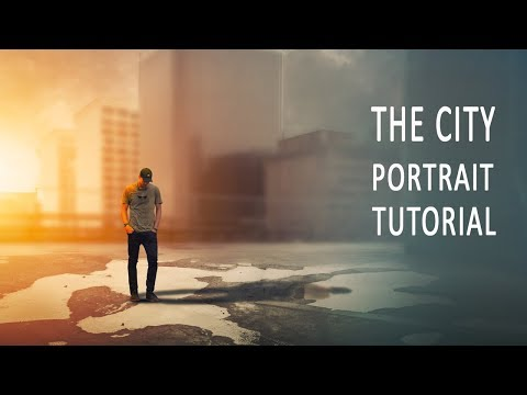 The City Portrait Photoshop Tutorial And Brush Tips thumbnail