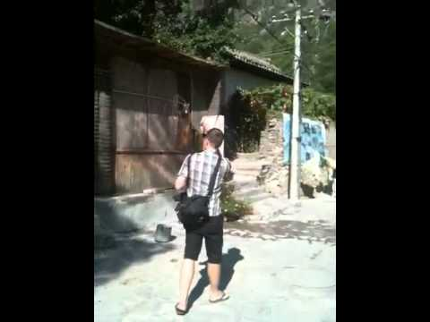 Karaoke at the village.MOV