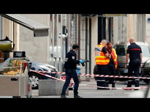 Explosão no centro de Lyon