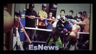 Bam Rodriguez KO In sparring EsNews Boxing