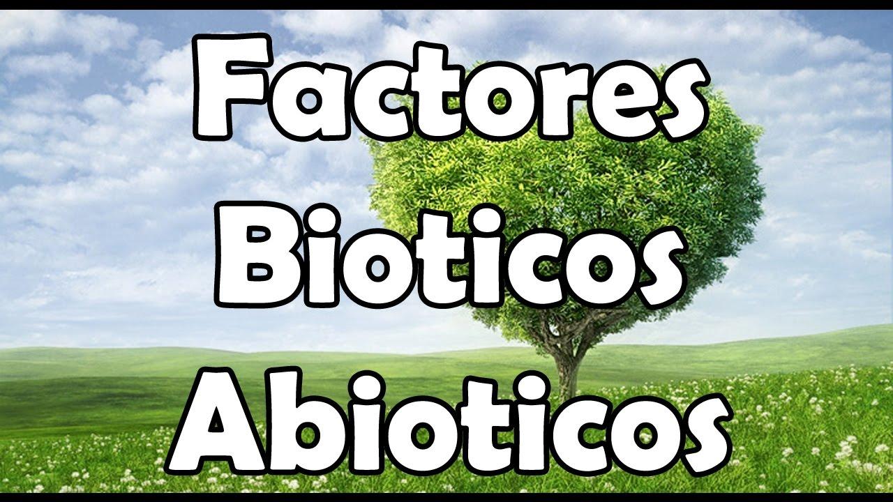 factores bioticos ejemplos yahoo dating