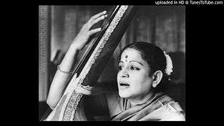 MS Subbulakshmi Banturithi Kolu Hamsanadham Adi Thyagaraja