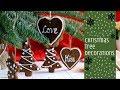 DIY GINGERBREAD CHRISTMAS TREE DECORATIONS TUTORIAL | INTHEKITCHENWITHELISA