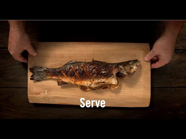 Grilled Whole Fish with Grill Mates