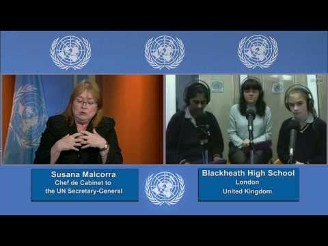 Susana Malcorra, Interview by students of Blackheath High School, 2014 Int'l Women's Day (Long)