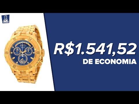 Relógio Invicta - R$1.541,52 de economia/lucro!