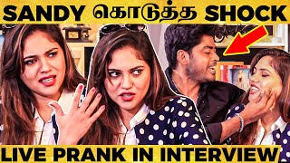 Sherin அப்பா Emotional Story, Reply to Sanam, Sandy's Prank - Sherin's Never Seen Interview