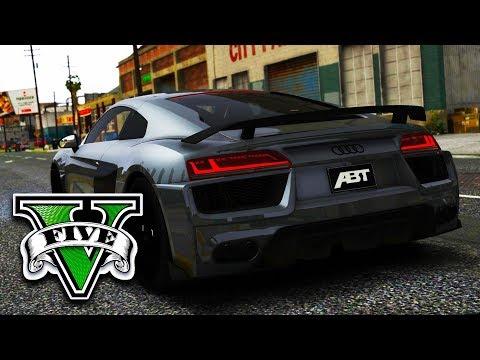 Audi R8 von ABT, Grafik-Mod und Essen | GTA 5 Real Life (Mods)