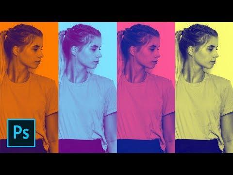 Photoshop Tutorial - Spotify Duotone Photo Effect (+ FREE Gradient!) thumbnail