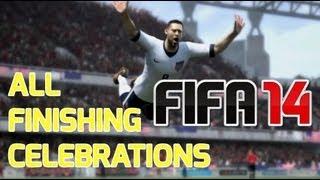 FIFA 14 | All Finishing Celebrations Tutorial