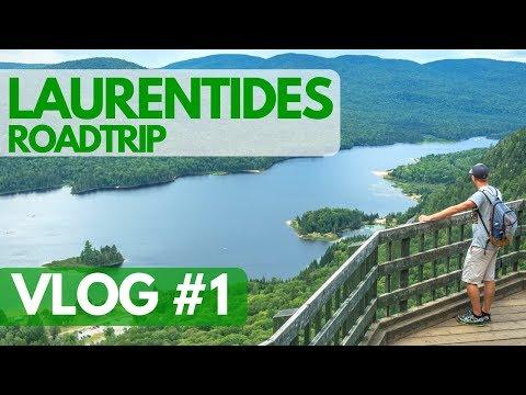 ROAD TRIP dans les LAURENTIDES en été - VLOG #1