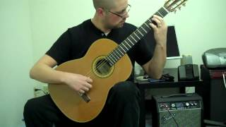Nutcracker Classical Guitar - Dance of the Sugar Plum Fairy