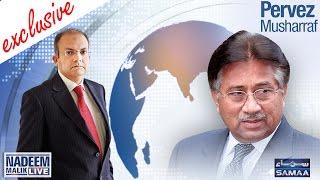 Pervez Musharraf Exclusive | Nadeem Malik Live | SAMAA TV NEWS | 12 Oct 2016