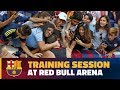 INSIDE TOUR | Barça gives fans a show at Red Bull Arena