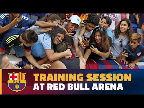 INSIDE TOUR: Barça gives fans a show at Red Bull Arena