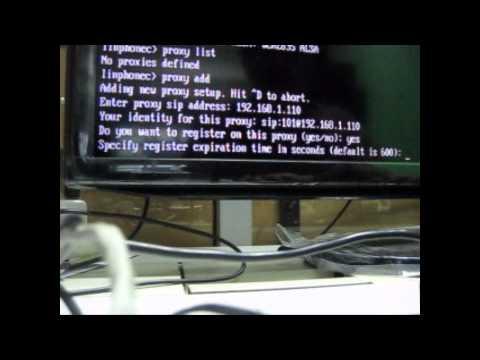 Raspberry Pi sebagai SIP Phone Client dengan IP PBX LAN (low)