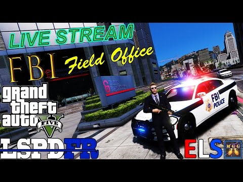 FBI Field Office Security Patrol GTA 5 LSPDFR Live Stream 49