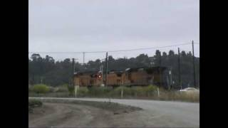 Union Pacific Switching: Watsonville, California