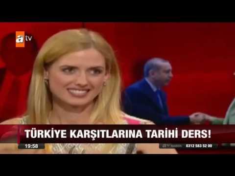 Wilma Elles'ten Erdoğan'a Övgü  atv Ana Haber