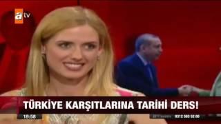 Wilma Elles'ten Erdoğan'a Övgü - atv Ana Haber Video