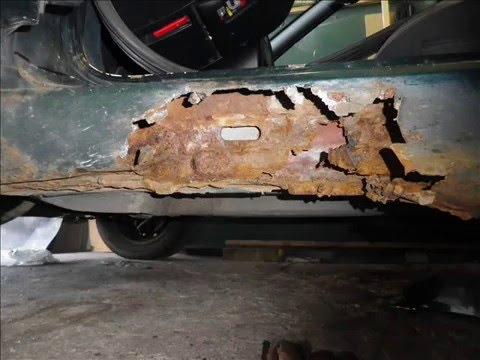 Renovation D Un Bas De Caisse De Citroen Xantia Youtube