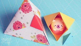 Caja Triangular ♥ [Origami] - Día de las Madres/Mother's day