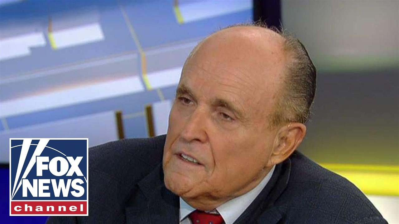FOX News Giuliani considers legal action against House Democrats