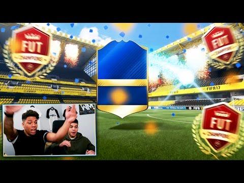 OMG WE PACK A 94 RATED PREMIER LEAGUE TOTS! - FIFA 17 FUT CHAMPIONS REWARDS!