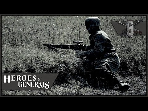 "FG-42 ""Marksman Rifle"" Fallschirmjäger - Heroes and Generals - German Paratrooper Gameplay"