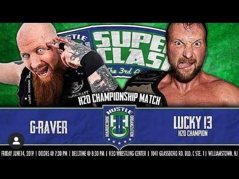 G-Raver vs Lucky13 - H20 Wrestling - June 2019