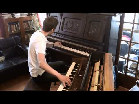 Maple Leaf Rag on two pianos in two different keys