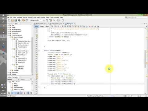 Thực hành Lập trình Java - Quản lý nhân viên - Bài 2