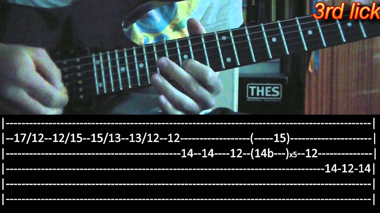 Crimson Day Guitar Solo Lesson Avenged Sevenfold With Tabs Youtube