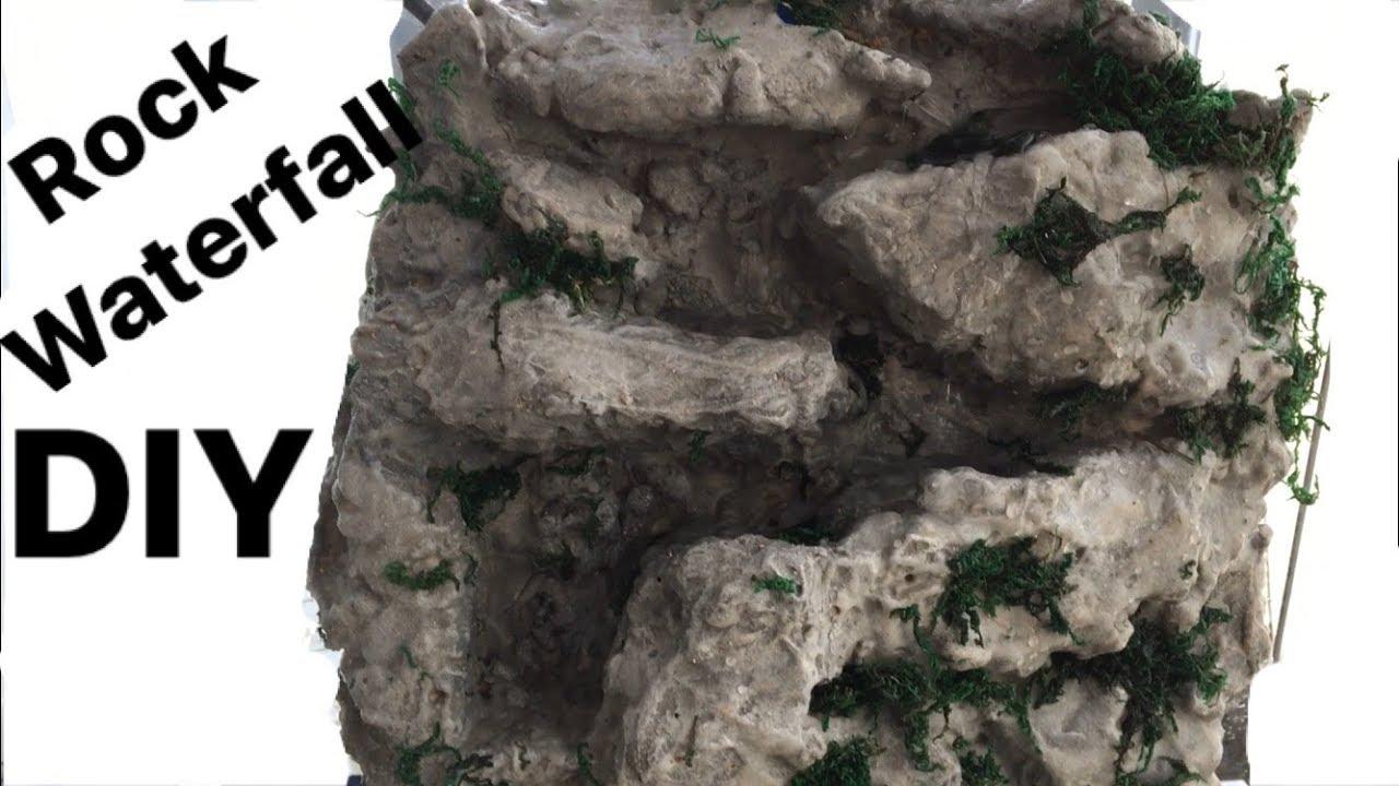 How To Make A Naturalistic Rock Waterfall Build Setup For Terrarium
