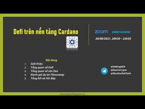 Tổng quan Defi trên nền tảng Cardano (CoreTeam1)