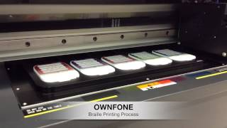 OwnFone Braille Printing Process