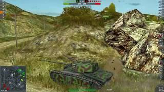 World Of Tanks Blitz Game Play (ARL 44) v4.1.0