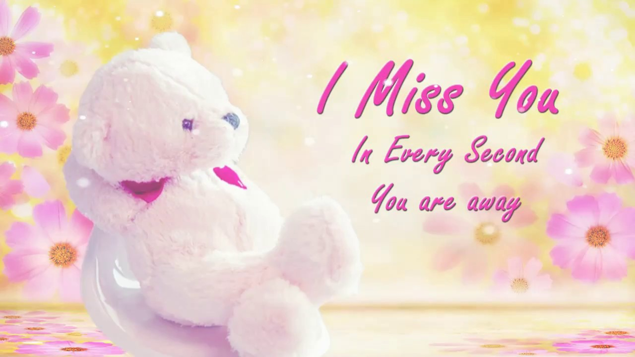 Miss you greeting cards youtube kristyandbryce Image collections