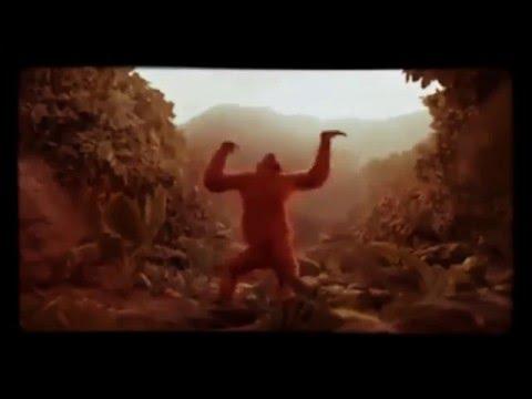 Affe Tanzt Hoch die Hände