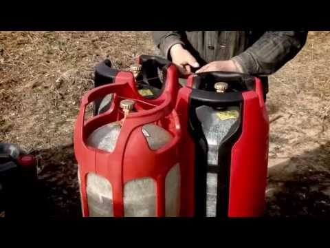 Полимерные газовые баллоны. Взрыв газового баллона