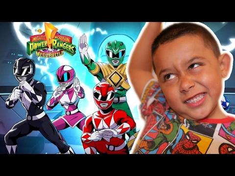 OMG ITS A POWER RANGER GAME | Mighty Morphin Power Rangers Mega Battle Gameplay