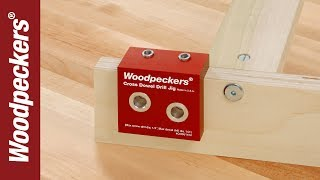 Woodpeckers Cross Dowel Drill Jig