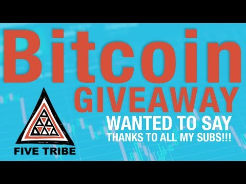 BTC SUB GIVEAWAY!!! Just wanted to say thanks to my channel!