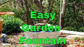 Anleitung zum Bau einer Einfachen Wasser-Brunnen