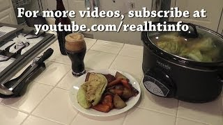 Corned Beef And Cabbage W/ Beer In The Crock Pot Easy Recipe