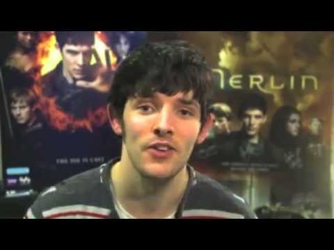 Merlin S5: Colin Morgan, Angel Coulby, Bradley James, Katie McGrath - message for fans from CA.mp4
