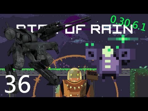 Risk of Rain 36: Metal Gear Engineer